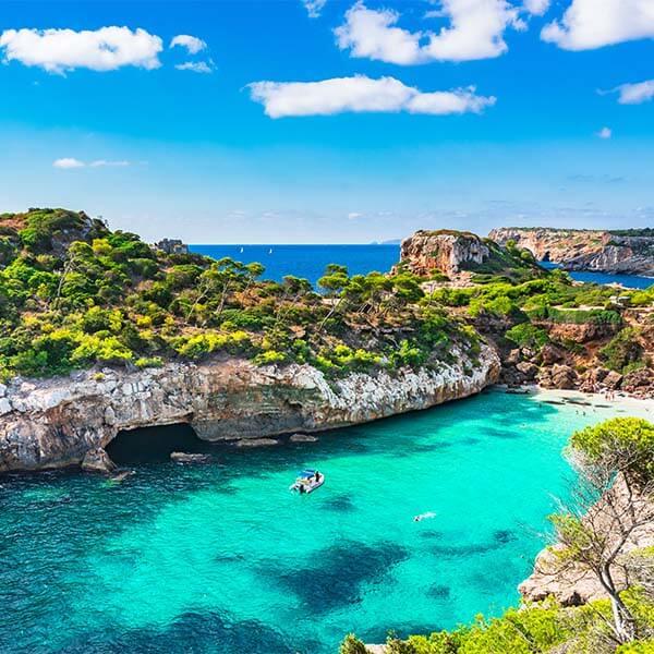 Sun-kissed Mediterranean Beaches